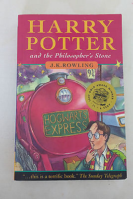 Harry Potter and the Philosopher's Stone (Paperback, 1997) Print 31