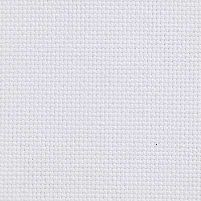 "AIDA 14 COUNT 12"" x 12"" WHITE CROSS STITCH FABRIC MATERIAL CLOTH"
