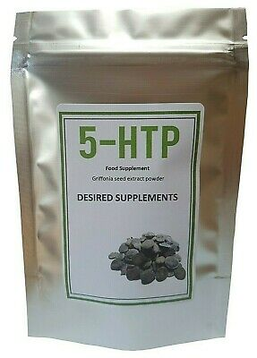 5-HTP 98% extract powder Griffonia Seed extract  Depression Anxiety Relaxation