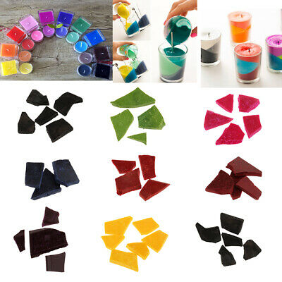 5g/Bag Candle Dye Pigment Chips Flakes Plant Dyes For Paraffin or Soy wax