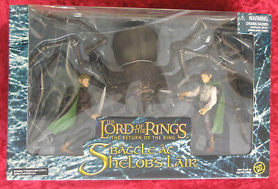 "Herr der Ringe ""Battle at Shelobs (Kankra) Lair"" 7 inch Playset von Toy Biz 2005"