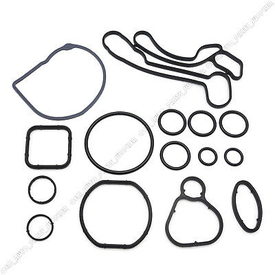 New 15pcs Engine Oil Cooler Gasket Seal 55354071 For 08 16 Cruze