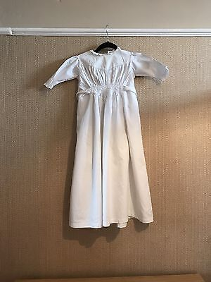 Antique Victorian French  Baby Nightie Nightgown