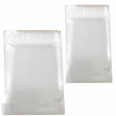 100 x Clear Cellophone Self Seal Florist Envelopes - Funeral Message Gift Card