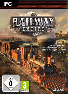 Railway Empire Steam CD key [DE/EU] PC Spiel Digital Download Serial Code