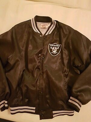 Los Angeles Raiders Jacke Satin Xl *rar* Ca. 1989 Top!!! N.w.a Eazy E Compton