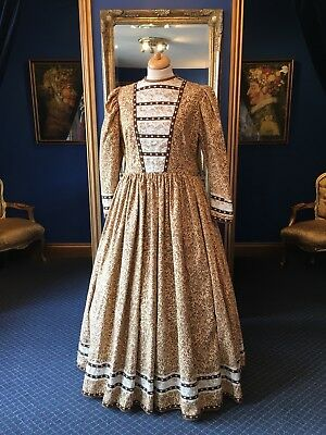 Stunning Theatrical Victorian Style Day Dress, Great Detailing, Beautiful Item!!