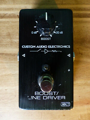 MXR - MC401 Boost/Line Driver Custom Audio Electronics