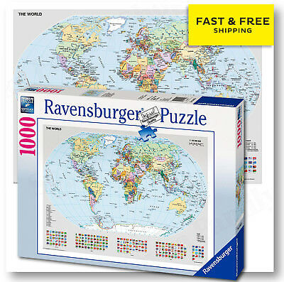 Ravensburger 15785 disney world map mickey mouse 1000 pieces ravensburger puzzle political world map 1000 pieces jigsaw puzzle kids study new gumiabroncs Gallery