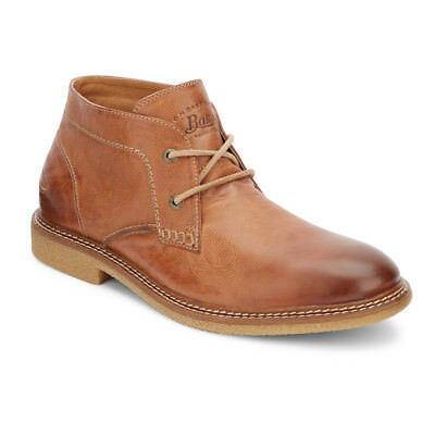 4185aa9a4ea G.H. BASS & Co. Men's Bennett Genuine Leather Crepe Sole Chukka Boot