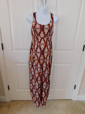 oh baby by motherhood maternity S Small multi color maxi dress