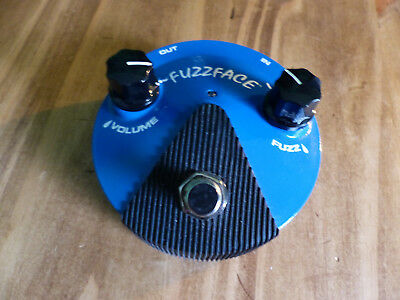 Dunlop Fuzz Face Mini Silicon Blue Pedal FFM1