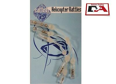 Catfish Pro Helicopter Rattles 3 per pack *NEW* Catfish Pro Rig Rattles