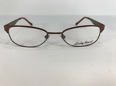 9457642f7770 Lucky Brand Eyeglasses Lizzie 48-17-130 Brown Flex Hinges B459