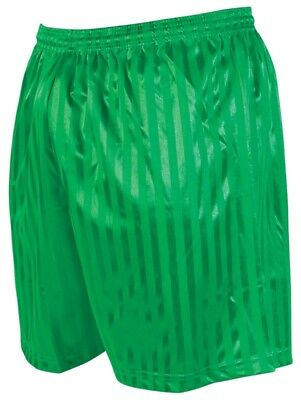 Precision Training Green Striped Continental Football Short All Sizes
