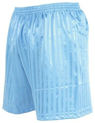 Precision Training Sky Blue Striped Continental Football Short All Sizes