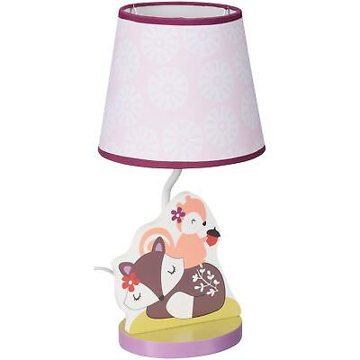 Bedtime Originals Lavender Woods Lamp with Shade & Bulb Purple Bulb included