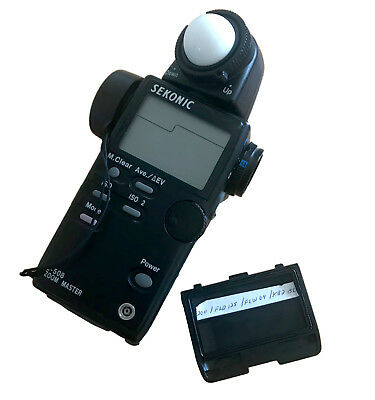 Sekonic L-508 Zoom Master Digital Ambient/Flash/Spot Light Meter