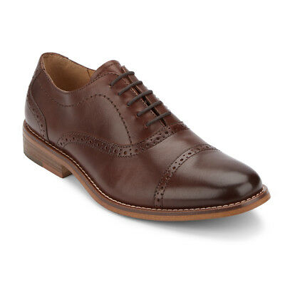 G.H. Bass & Co. Men's Carnell Genuine Leather Cap Toe Oxford Shoe