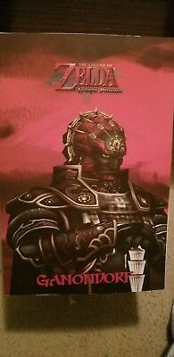 "The Legend of Zelda Twilight Princess Ganondorf 12"" Statue Dark Horse rare!!"