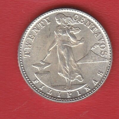 Pilipinas 20 Cents 1944 Silver