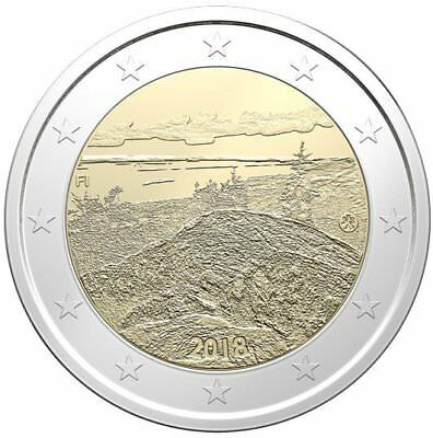2 Euro Gedenkmünze Finnland 2018 - Nationallandschaft Koli