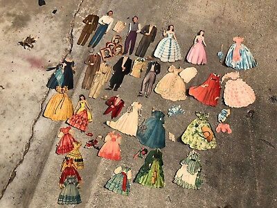 Gone With The Wind Paperdolls - All Cut ~ Add To Your Collection! Lot Of Clothes