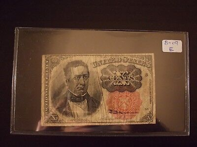 1874 .10 Cent Fractional Currency