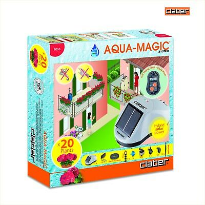 Claber Aqua Magic 8063. Solar Powered Drip Irrigation