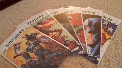 Ultimate Avengers #1-6, Ultimate Armor Wars #1-4, Complete MiniSeries, Near Mint