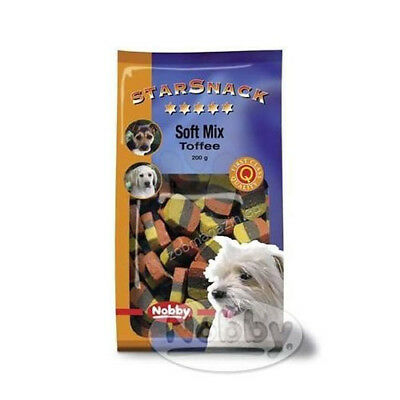 Snack para perros Soft Mix Toffee NOBBY 200g