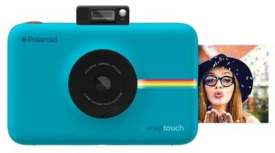 Polaroid Snap Touch Instant Print Digital Camera With LCD Display (Blue)