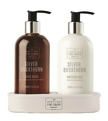 Scottish Fine soaps Silver Buckthorn Hand Care Set