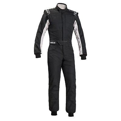 SUIT SPARCO R548 SPRINT RS-2.1 T Tg.56 COLOR BLACK/WHITE