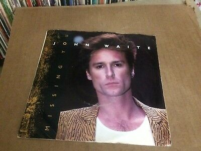 """John Waite Missing You Pic Sleeve With Vinyl 45 7""""  P"""