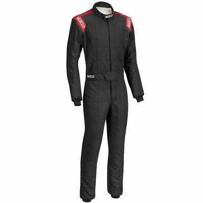 Rennoverall Sparco R-506 Conquest Tg.48 Farbe Schwartz/rot
