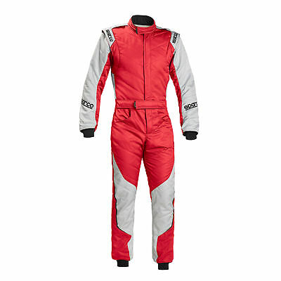 RENNOVERALL SPARCO R549 ENERGY RS 5 RS/SI Tg.48 FARBE ROT/SILBER