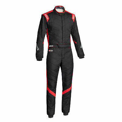 Rennoverall Sparco R541 Victory Rs-7 Tg.56 N Farbe Schwartz/rot