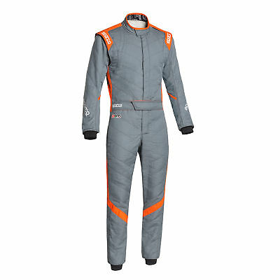 Rennoverall Sparco R541 Victory Rs-7 Tg.52 G Farbe Grau/Orange