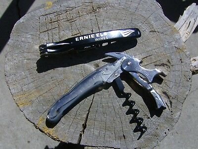 Italy Vineyard Corkscrews by Murano - Ernie Els, Provisions (lot of 2) Colorful