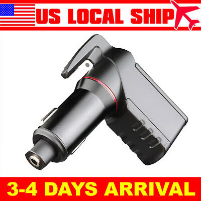 Escape Tool Stinger USB Car Charger Emergency Window Breaker & Seat-Belt Cutter