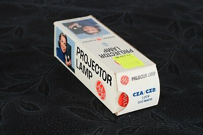 CZA/CZB Projector Bulb 500W-120V General Electric
