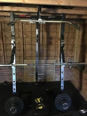 Marcy ECS Heavy duty Power rack, multi gym and 100kg weights