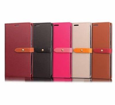 Coque Etui Housse Portefeuille Chic Cuir Neuf Iphone 5 5S Se 6 6S 7 8 X New