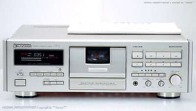 PIONEER CT-95 High-End Cassette Tape Deck 1A-Zustand+BDA! Revidiert+1J.Garantie!