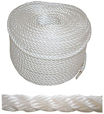 Anchor Marine Rope Boat Mooring Line Stainless Steel Thimble 8mm x 100m