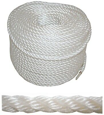 Boat Anchor Rope 12mm x 100m High Strength Marine