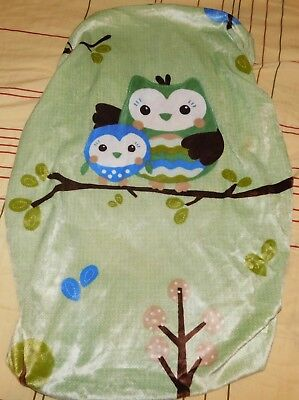 Summer Infant Ultra Plush Changing Pad Cover, Owls- Multi Color