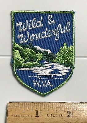 Wild & Wonderful West Virginia WV River Forest State Travel Souvenir Patch