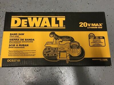 Brand New Dewalt DCS371B 20V 20 Volt Max Cordless Band Saw W/ Blade Tool Only